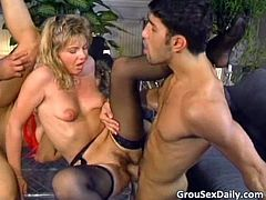 Foursome tube videos