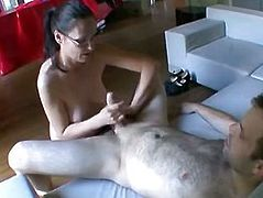 French Amateur My Wife fucked by a Stranger!