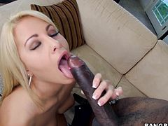 blonde beauty tastes a bbc