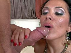Dirty young stud Dane Cross enjoys making arousing juicy facial cumshoot compilation with blonde and black haired whores and milfs Jenner, Sieanna West, Raylene, Diana and Payton in close up