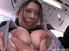 These types of sex stories often take place in Japanese public transports. Rush hour rapture over this horny Japanese babe makes the scene look amazing.