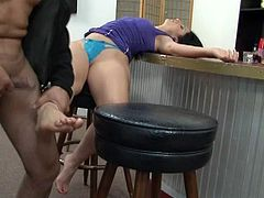 LUSCIOUS LOPEZ -Horny Babe Take A Rough Sex And A Facial