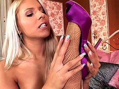 Aleska Diamond and Brandy Smile are taking off their panties