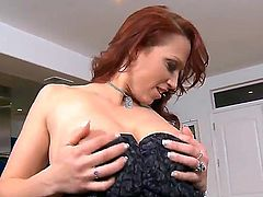 If you ask me, there is nothing better than getting a nice blowjob from delicious red haired angel Nicki Hunter. She is using her soft lips to make my penis rock hard!