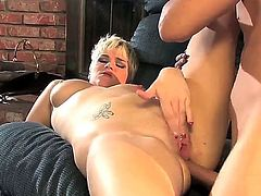 Butt fucking hot blonde Claudia Downs is the best