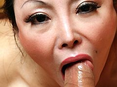 Chinese honey Ange Venus needs a penis