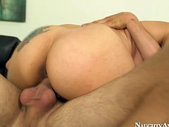 Raunchy hoe Raylene is riding hard dick like crazy
