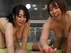 Japanese Four Plumper Play Bathroom Vol.2