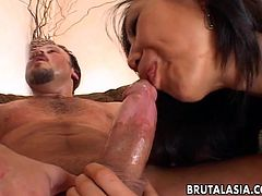 Hardcore anal sex with Asian Tia Ling