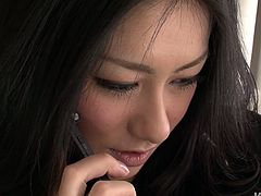 Ardent Japanese nympho with sweet natural tits has casting today. This pale slut wanna choose the strongest and hottest dicks. She takes some dudes from the raw to her bedroom for getting her wet hairy pussy pleased at once.