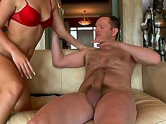 Ian Scott has the big plan of seducing the cock-smitten girl Rihanna Samuel. But the thing is that she doesnt need seducing. She is totally ready to eat his cock and be fucked.