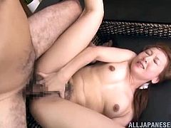 This super sizzling and divine Japanese siren is so fucking good at seductions. But this time it all happens surprisingly.