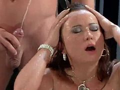 Awesome Babes get reAlly bawdy duRing the pisSing fuckfest they share inside the threesome, fucking wildly in the hardcore xxx video.