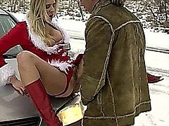 Jane Darling Anal Christmas on the Road