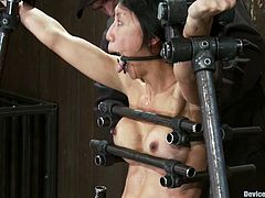 Tia Ling is the hot Asian chick featured in this BDSM video where she gets bound and tortured for your twisted pleasure.