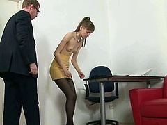 Enjoy this intense and hot vid set by Spanking Them where a blonde secretary learns some discipline from her boss. Watch her getting her booty spectacularly spanked.