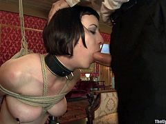 Slut Slave Shows Her Skills for the House