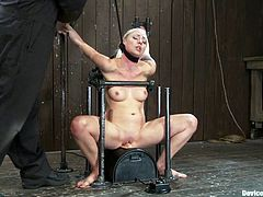 Lorelei Lee is the blonde featured in this BDSM video where she gets bound and tortured for your twisted pleasure.