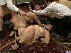 When it comes to bondage games, these hotties love to please themselves and their master. Watch them being humiliated before blowing their masters.