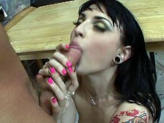 Sexy tattooed babe Joanna Angel's newest find is a hot young babe and Joanna is Crushing On Draven Star in this hardcore trailer featuring hot action that will get your motor running.