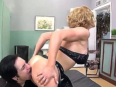 Two naughty horny lesbian sluts Kade and Lynn get it going with pussy licking and ass licking