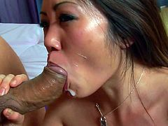 Asian Kaiya Lynn fuck with a hard cock