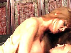 Darla Crane and Rocco Reed are having cool screw in this fascinating action! Watch the MILF with cool body riding up penis and performing so nice rodeo on it on camera.