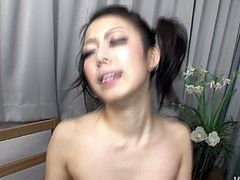 The way too emotional slut from Japan likes only threesome. While her hairy cunt gets banged doggy bitchie nympho sucks the other tasty lollicock for sperm. Ardent hooker with small tits is surely worth checking out in Jav HD sex clip, if you wanna jizz at once.