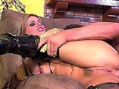 Watch as Holly Wellin, a super sexy MILF, rides Tory Lanes wang in a way that, I must confess, is quite raw and animal-like ... but also very hot. So, enjoy the show, pal.