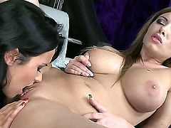 Bettina DiCapri and Donna Bell get wet