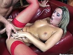 Voracious bitch with incredibly sassy and rubbing look is fucking furiously in a hardcore porn clip. She rides the dong and later gets hammered bad in a missionary position. Provocative Premium HDV porn movie.