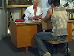 Mature lady fucked at school