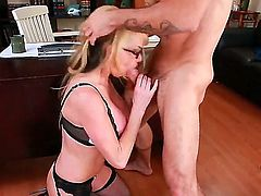 Taylor Wane with round booty and clean bush loses control in sexual frenzy with horny guy Alan Stafford