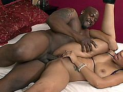 Ebony couple fuck