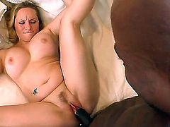 Dangerously horny porn girl Aiden Starr with phat booty spends time getting it on with hot bang buddy