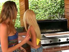 Super sexy chica tart Courtney Page is on the edge of nirvana after lesbian sex with Breanne Benson