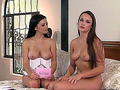 Hello to everyone! This is a hot lesbian interview with a gorgeous and busty girlfriend named interview! I am sure that you will like her delicious boobs! Enjoy!