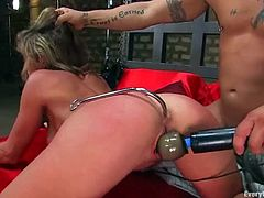 Her body is so fucking hot and she is always on demand for sex. Babe tires a fetish sex with her partner this time, using some BDSM tools.