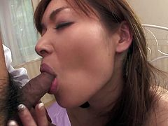 Being sick, divine Japanese babe calls a doctor. He examines her hairy pussy as she stands in doggy pose before she kneels down to oral fuck his sturdy cock in sultry sex video by Jav HD.