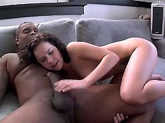 Rico Strong gets her bottom stuffed full of cock in anal porn action with Wesley Pipes