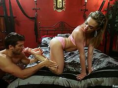 The hot and sexy Bailey Blue is going to have hot hardcore sex with some kinky foot fetish action with Ramon Nomar's hard latin cock.