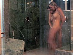 Awesome all naked lesbos take shower together. Hot water induces kinky nymphos to eat and spoon each other's juicy cunts. Gosh, these hotties with nice butts and cute tits are the cause of my hard boner!