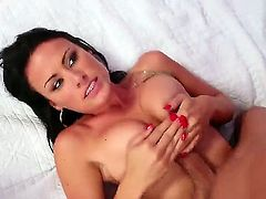 Ashli Ames spends her sexual energy with hard cocked dude Mick Blue