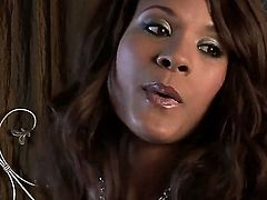 Keisha Kane touches her love tunnel playfully