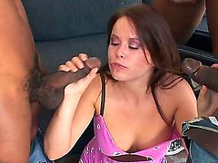 Jon Jon has fantastic oral sex with Kaci Starr after she takes it in her butthole