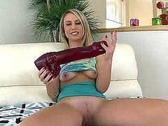 Charlee Monroe has fire in her eyes as she takes cum shot on her eager face