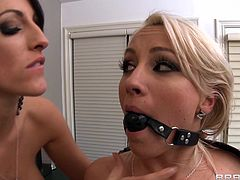 Sexy lesbians are naughty and eager for a great femdom session along their naughty toys
