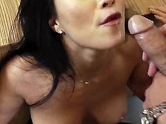 Rocco Reed plays hide the salamy with Oriental Asa Akira