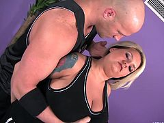Porsche Dali is an extremely obese fatty, who's picked up on the street corner by hunk Christian Xxx. He takes her home and pays her lots of money, to suck on his dick and fuck his brains out. She sucks him off like she's eating a big sandwich.