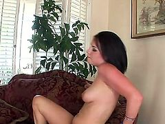 Tatiana Kush is a cock hungry Indian bimbo who sates her hunger for dick by riding on it dilligently